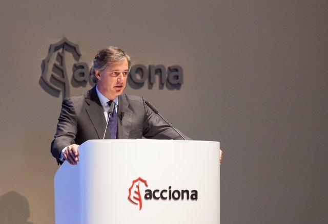 José Manuel Entrecanales, presidente de Acciona
