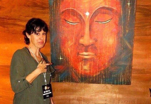 La artista ibicenca Aída Miró