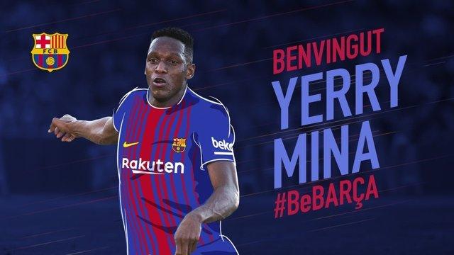 Yerry Mina ficha por el Barcelona