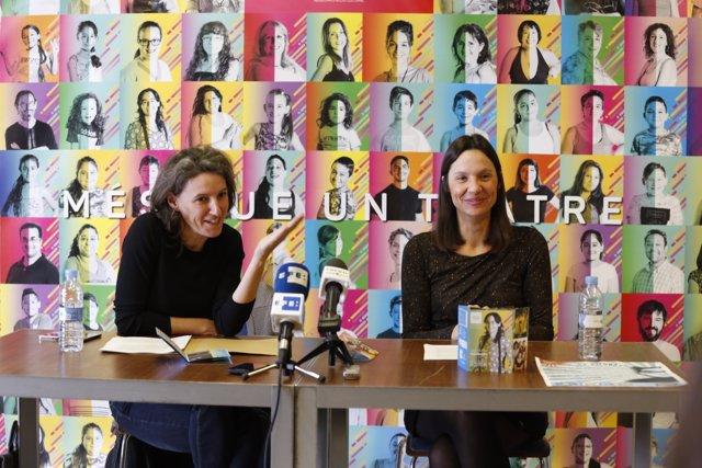 María Oliver i Olga Álvarez presenten la programació del TEM