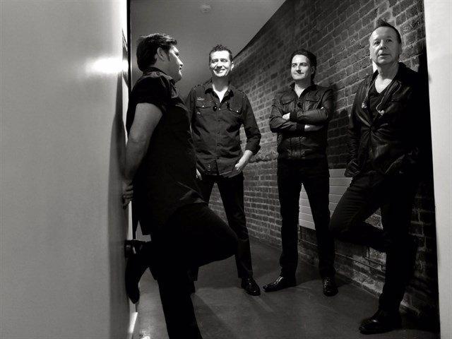 La banda Simple Minds en una imatge d'arxiu