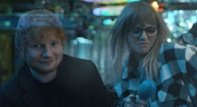 ED SHEERAN Y TAYLOR SWIFT