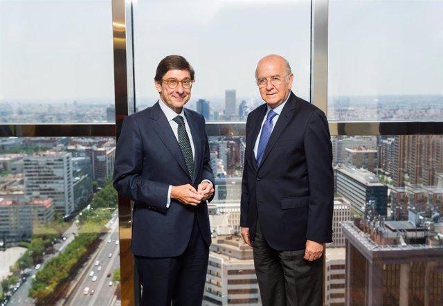 José Ignacio Goirigolzarri y Carlos Egea