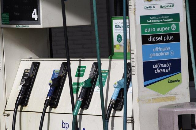 Gasolina, gasolinera, gasoil, IPC