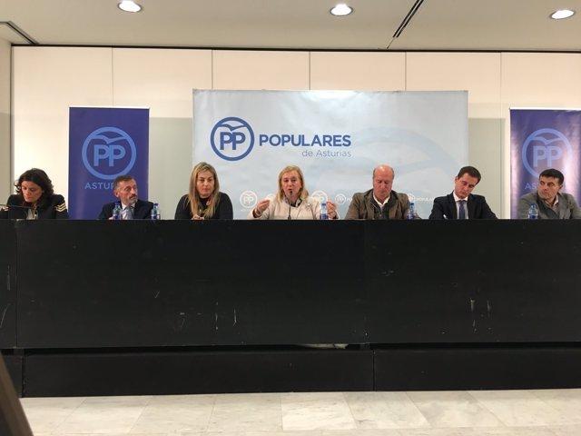 Comité Ejecutivo Regional del PP de Asturias