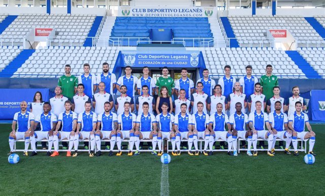 Foto de plantilla del CD Leganés