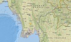 Registrat un terratrèmol de magnitud 6 al sud de la capital de Birmània (USGS)