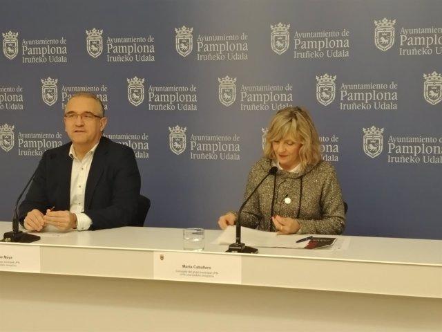 Enrique Maya y María Caballero.