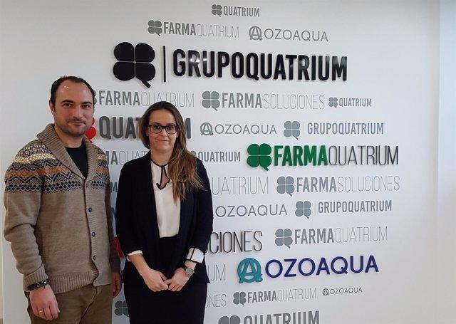 Grupo Quatrium, donanción