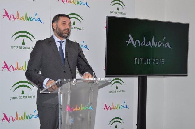 Nota De Prensa, Fotografía Y Dossier. Andalucía Se Presenta En Fitur 2018 Como U