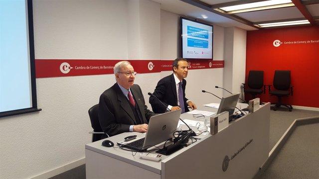 Miquel Valls e Ignacio López Chocarro