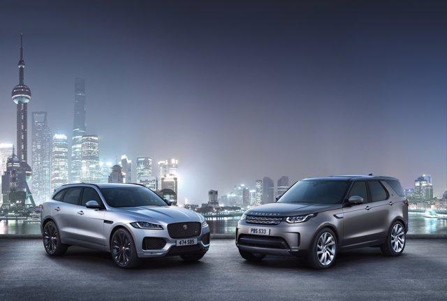 Vehículos de Jaguar Land Rover