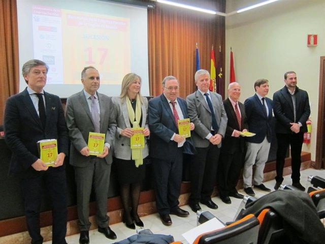 Presentación del Barómetro de la Empresa Familiar de la Región en la UMU