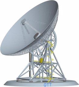 Concepto del radiotelescopio QTT