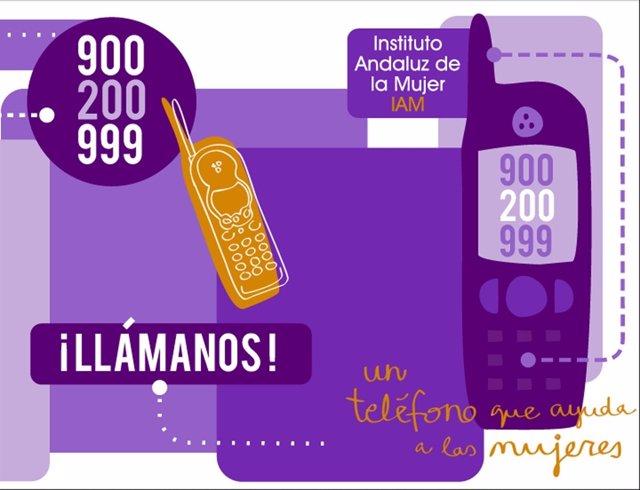 Aumentan las llamadas al Teléfono andaluz de Información de la Mujer