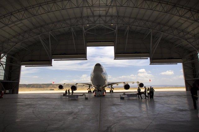 El Aeropuerto de Teruel sigue desarrollando sus instalaciones