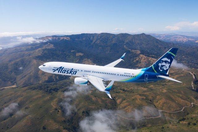 Avión Alaska Air
