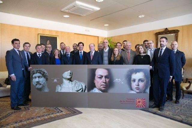 Presentación de la oferta de Sevilla y provincia en Fitur