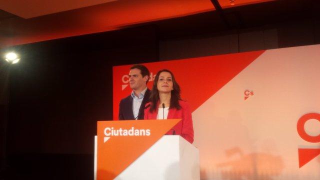 Albert Rivera i  Inés Arrimadas (Cs)