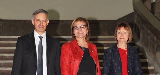 Els tres candidats a les eleccions al Rectorat de la UV