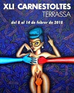 Cartel del Carnaval 2018 de Terrassa