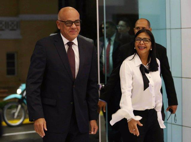 Delegación del Gobierno en el diálogo con la oposición venezolana