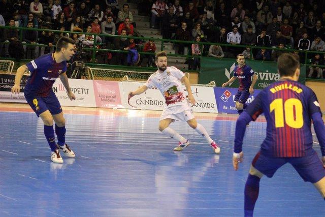 El Barça Lassa vence al Naturpellet Segovia