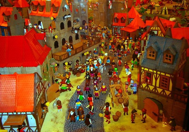 Imagen del diorama