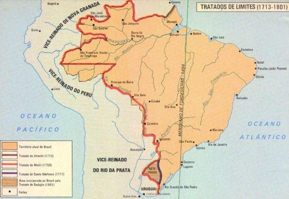 Como Fijaron Espana Y Portugal Los Limites De Sus Colonias En