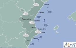 Las nubes protagonizarán la tarde del sábado