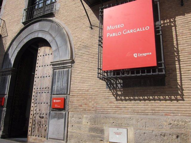 Fachada del Museo Pablo Gargallo