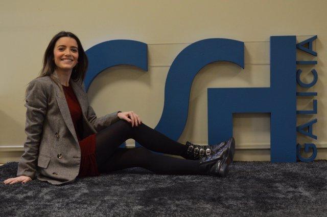 Marta Casas Bellas, finalista del Centro Superior de Hostelería de Galicia