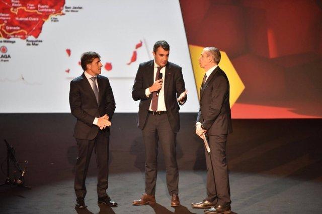 Javier Guillén presentación La Vuelta España 2018