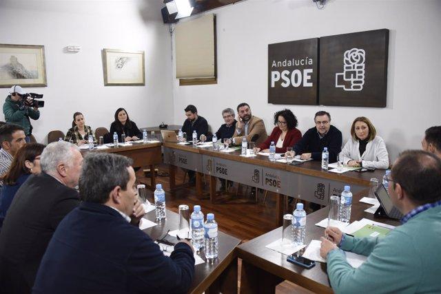Reunión de responsables de turismo del PSOE