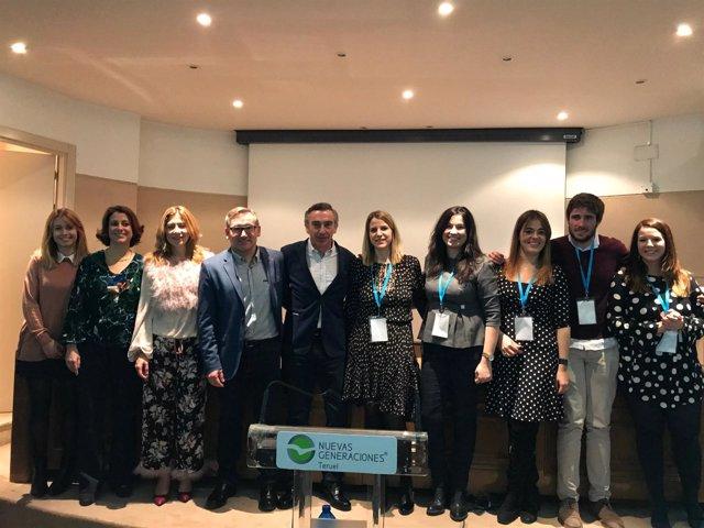 Congreso de Nuevas Generaciones en Teruel.