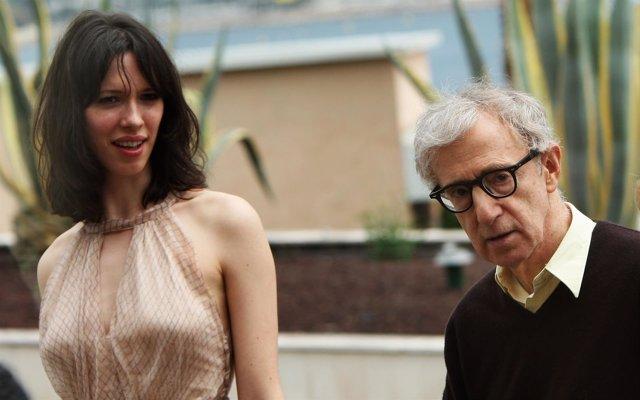 Rebecca Hall y Woody Allen