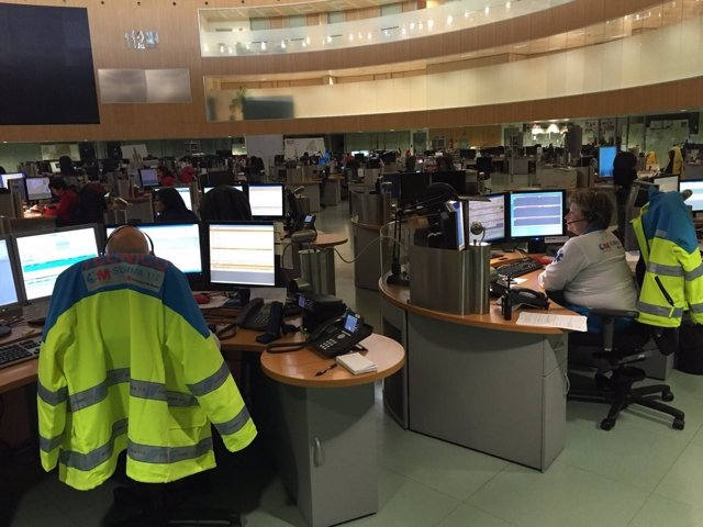 Centro de llamadas del 112 Comunidad de Madrid
