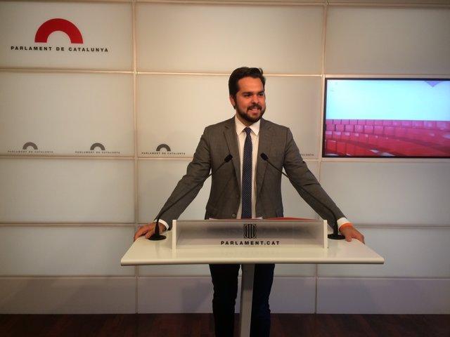 El secretari de comunicació de Cs, Fernando De Páramo