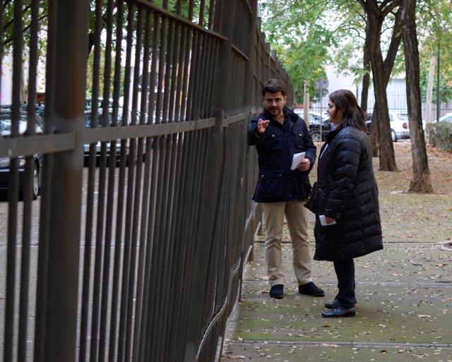 Visita del PP al Parque Blanco White de Sevilla