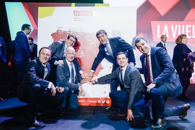 La Diputación logra que 'La Vuelta a España 2018' vuelva a la provincia
