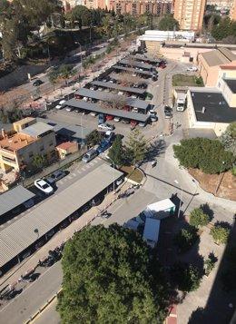 Aparcamiento Hospital Materno Infantil de Málaga