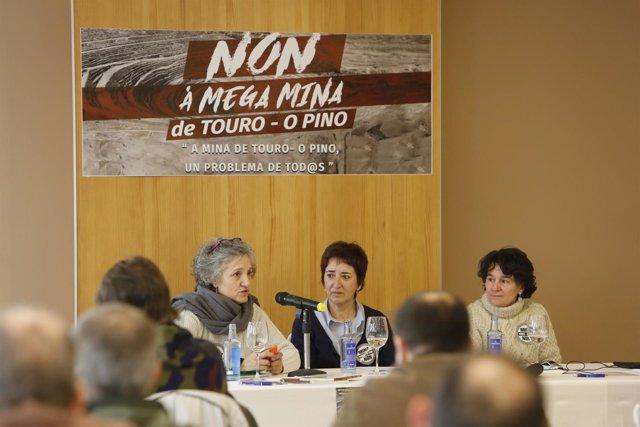 "Eurodiputada Lídia Senra, jornada ""La mina de Touro-O Pino"""