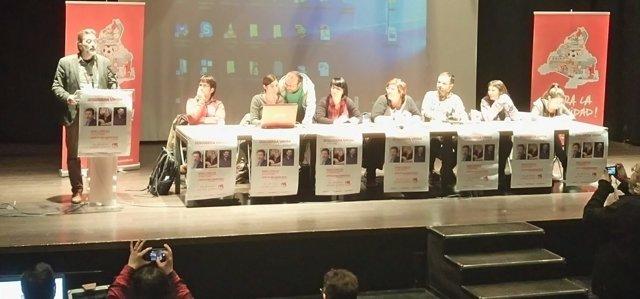 II Asamblea Izquierda Unida Madrid Ciudad