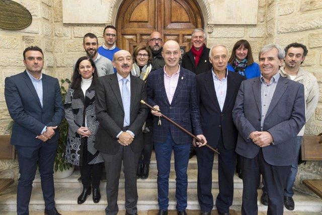 Toma de posesión de Óscar Villegas como alcalde de Puente Viesgo
