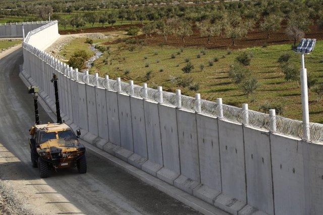 Frontera entre Turquía y Siria