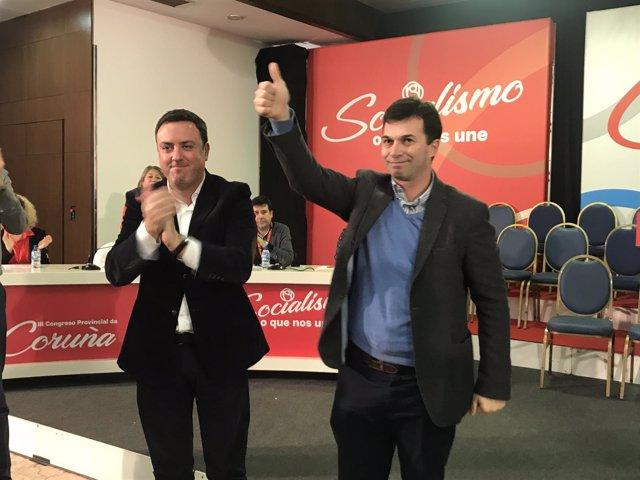 Valentín González Formoso y Gonzalo Caballero