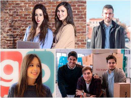 Transporte, calzado o inteligencia artificial: jóvenes emprendedores cuentan cómo ha sido arrancar sus negocios