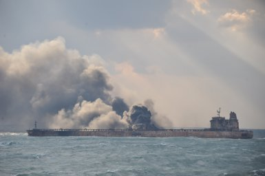 Iran dóna per morts als 29 tripulants desapareguts del petrolier 'Sanchi' (REUTERS )