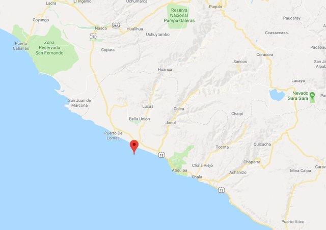 Terremoto Perú Enero 2018