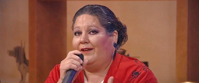 Rosa Delia Nuez en el programa 'Buenas tardes, Canarias'